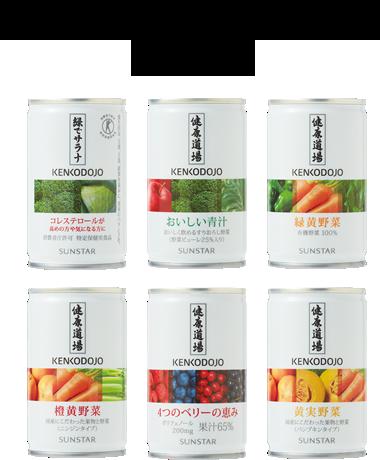 健康道場ドリンク6缶セット