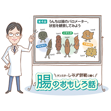 腸のおもしろ話 第4回 便は腸のバロメーター。状態を観察してみよう