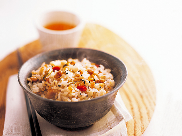 白米に雑穀をプラスして栄養価アップ!