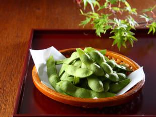 おやつにも最適。栄養豊富な枝豆を食べて元気に!