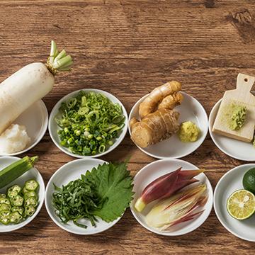 夏バテ予防に!薬味を使った夏の食養生レシピ