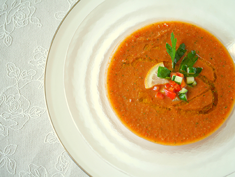 ひんやり食感!冷製スープで夏の食養生