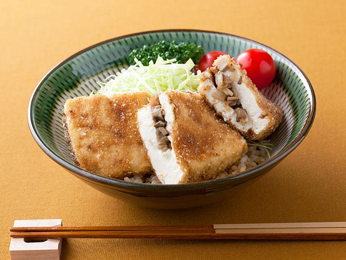 ソースカツ丼風