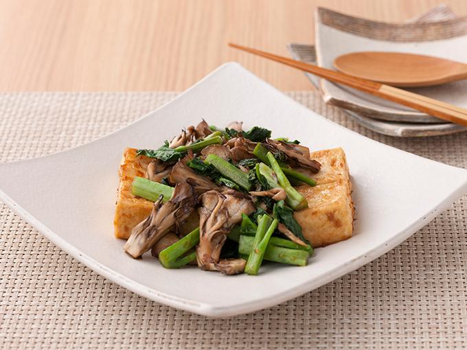 豆腐の生姜焼き