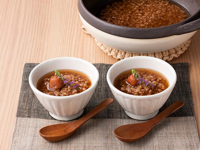 炒り玄米茶粥