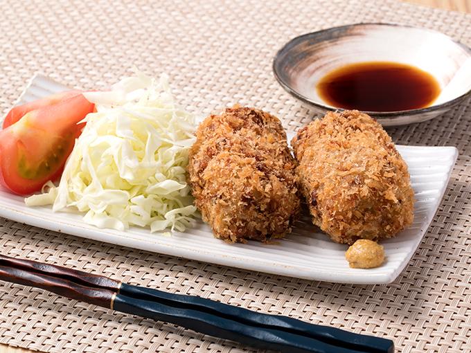 納豆コロッケ