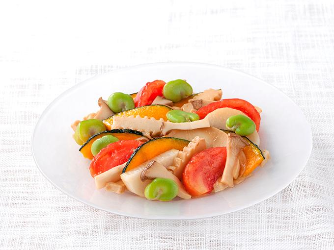 野菜と角麩のマリネ
