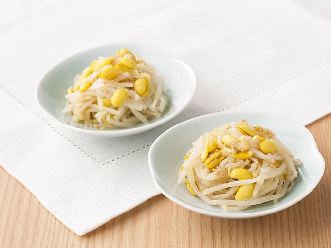 豆もやしの生姜ナムル