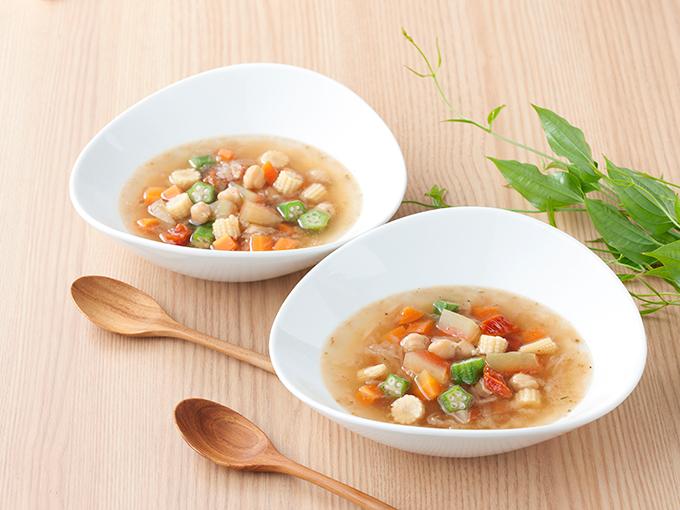 ひよこ豆と野菜のスープ