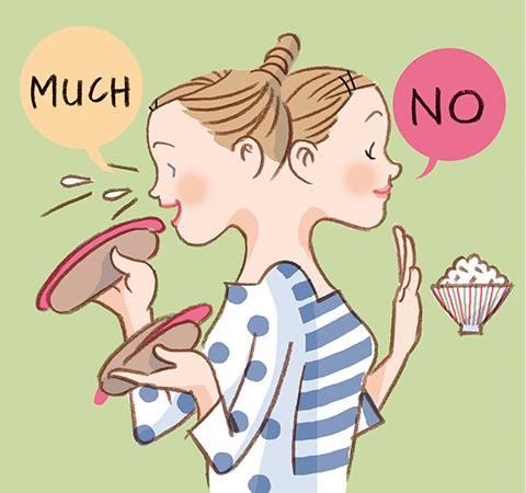 食べ過ぎ&偏った食事