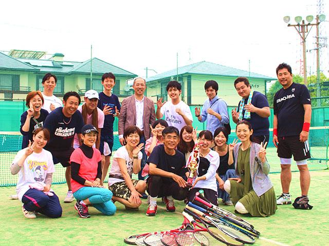 2016年5月開催ガーデンシティクラブ大阪 第1回テニス大会に協賛