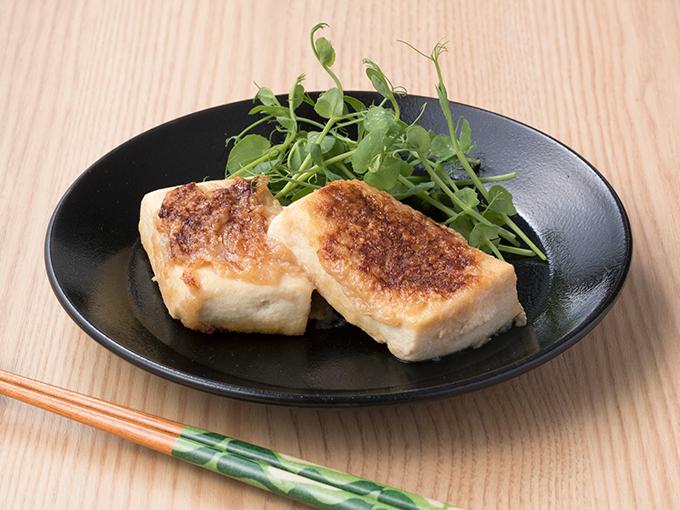 高野豆腐のとろろピカタ