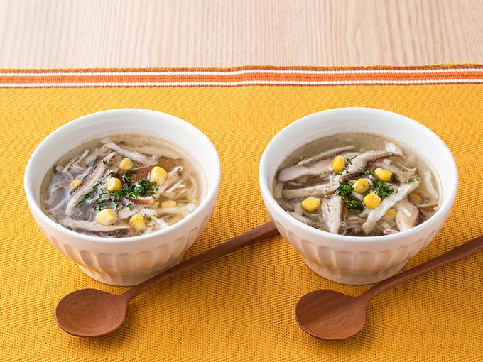 切干し大根と椎茸のスープ