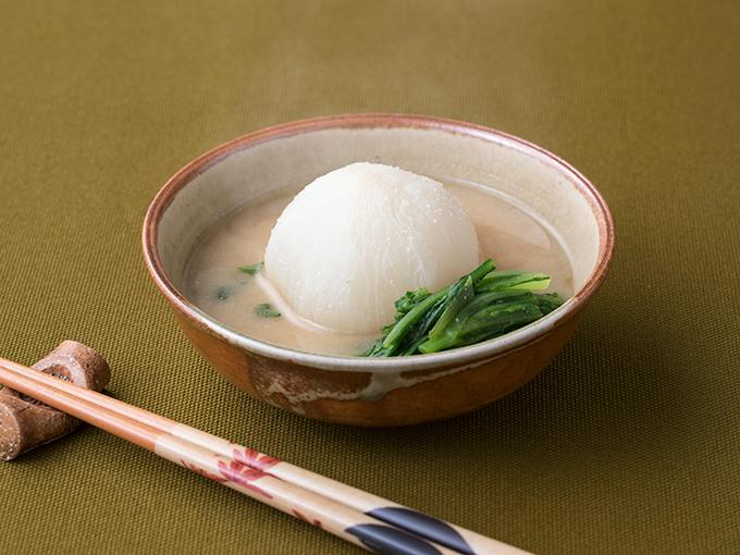 かぶの白味噌煮