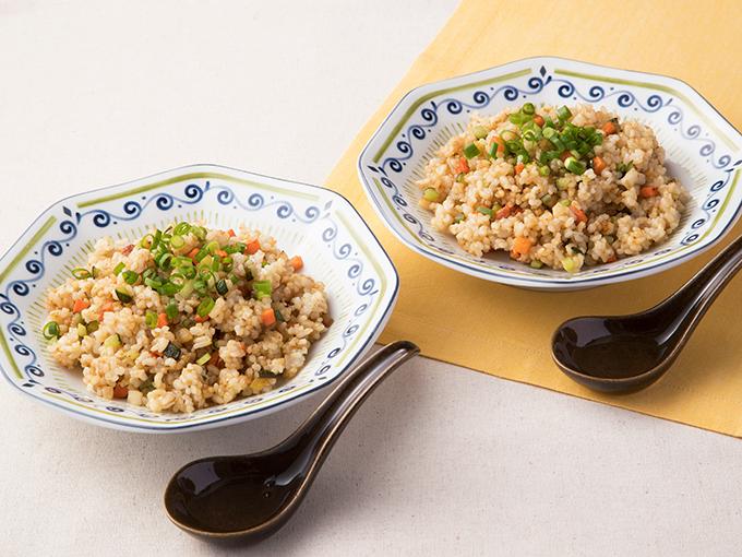 糠漬け玄米チャーハン