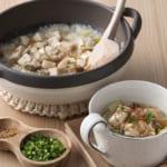 豆腐入り中華粥