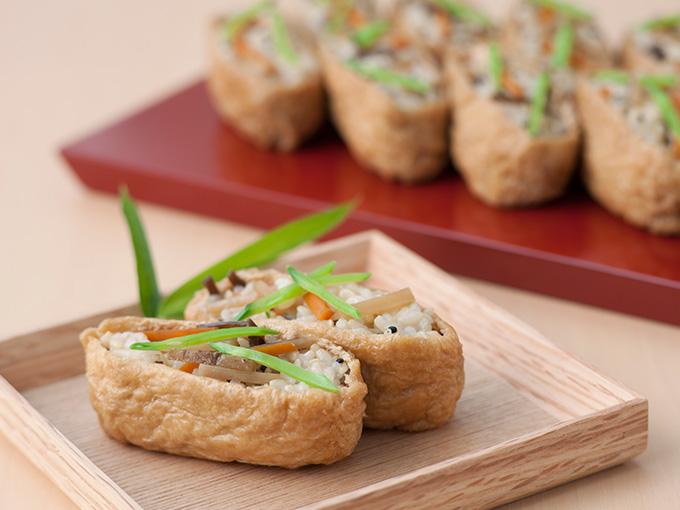 玄米いなり寿司