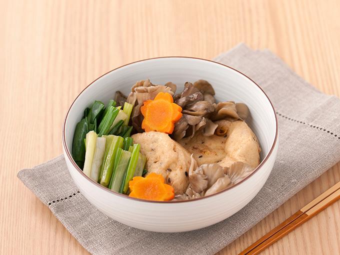 がんもと舞茸の煮物