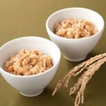 玄米大豆ごはん