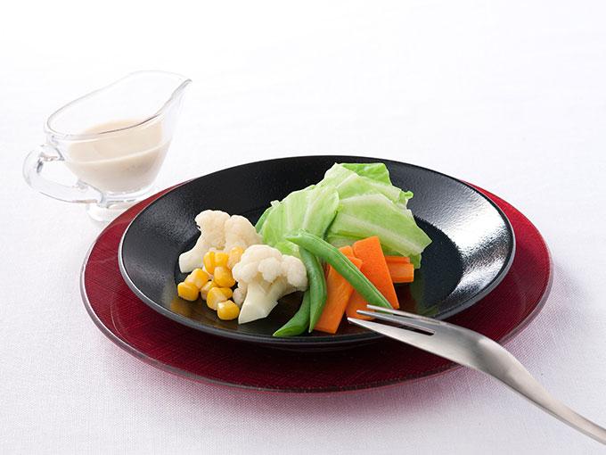 温野菜のゴマネーズ