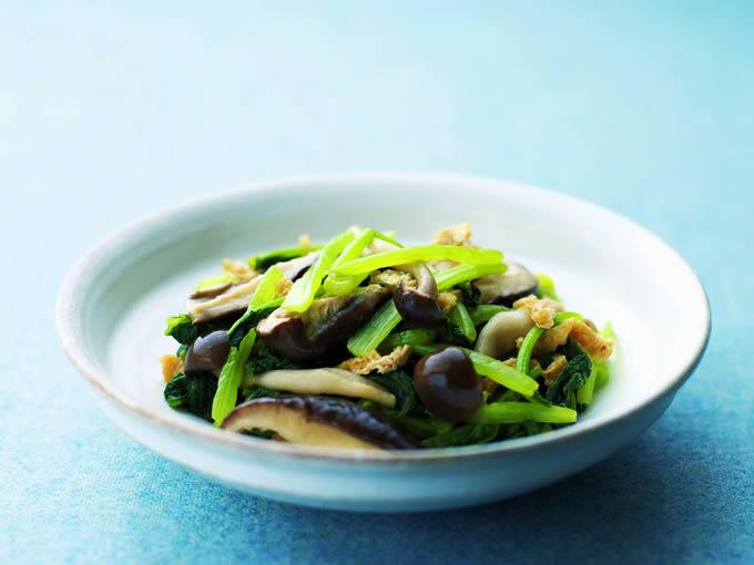 小松菜のゆず浸し