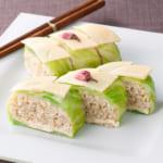 春野菜の玄米寿司ケーキ