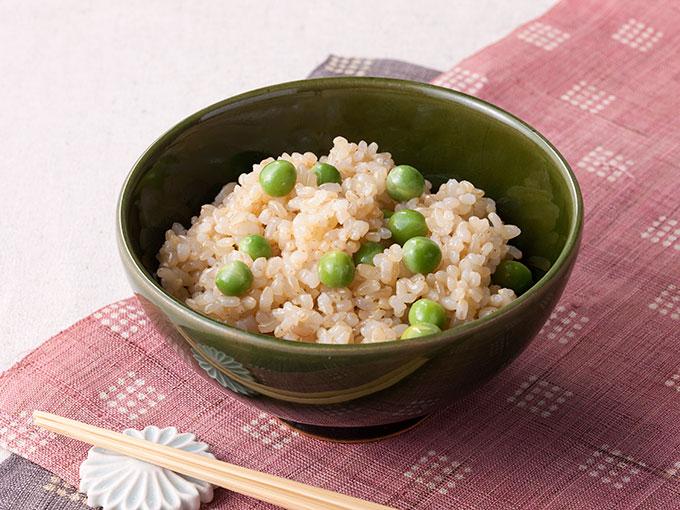 玄米豆ごはん