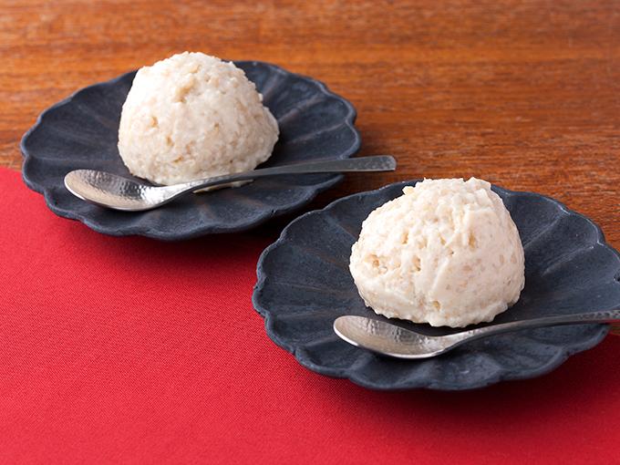 玄米アイス