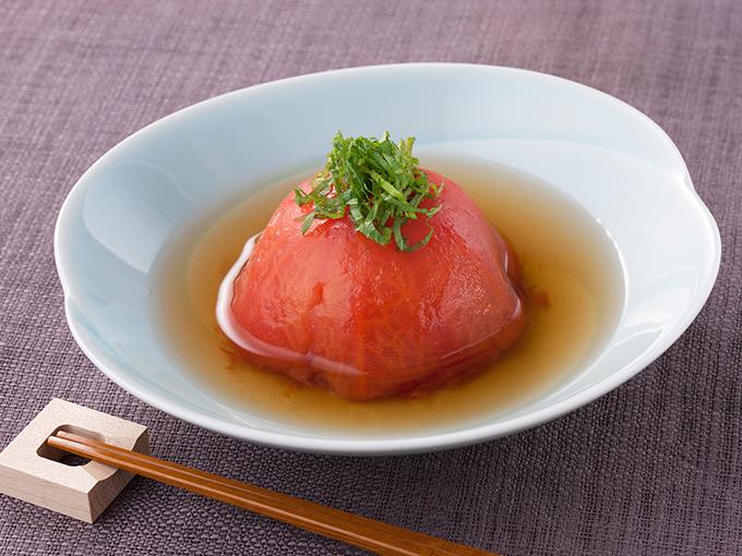 トマトの丸ごと煮浸し