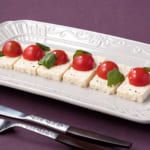 塩麹豆腐のカプレーゼ風