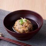 里芋と豆腐の揚げ団子
