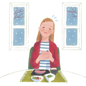 冬でも起こる食欲不振。風邪のこじらせを予防し免疫力を保つには?